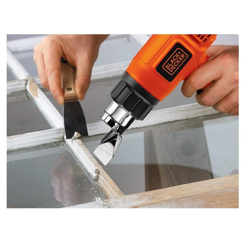 Pistola de calor Black & Decker HG1500-B3